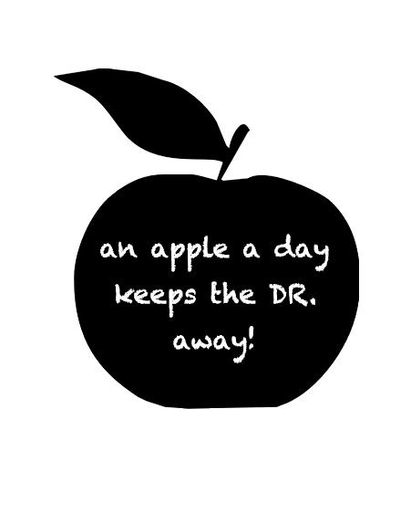blackboard apple