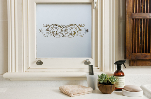 removable frosted window film
