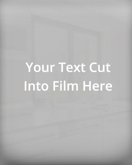text-cut into film