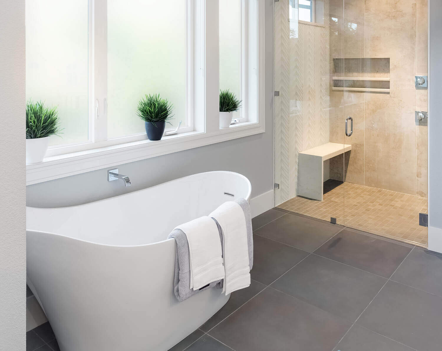 privacy glass window film - bathroom